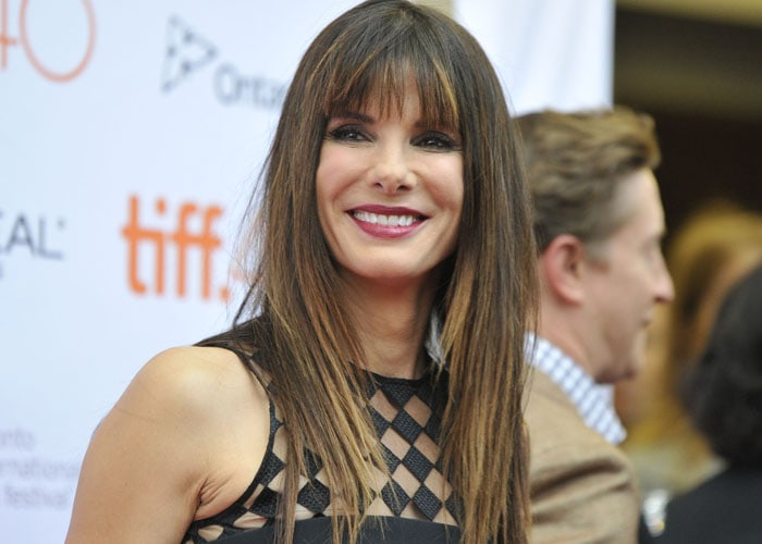 "Sandra Bullock attends the 40th Toronto International Film Festival for the premiere of her latest film ""Our Brand Is Crisis"""