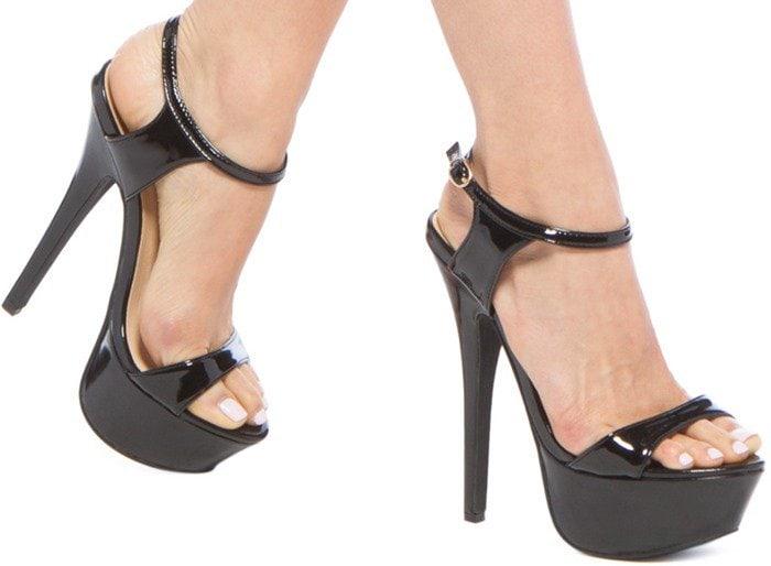 Sassy Sky-High Platform Heels