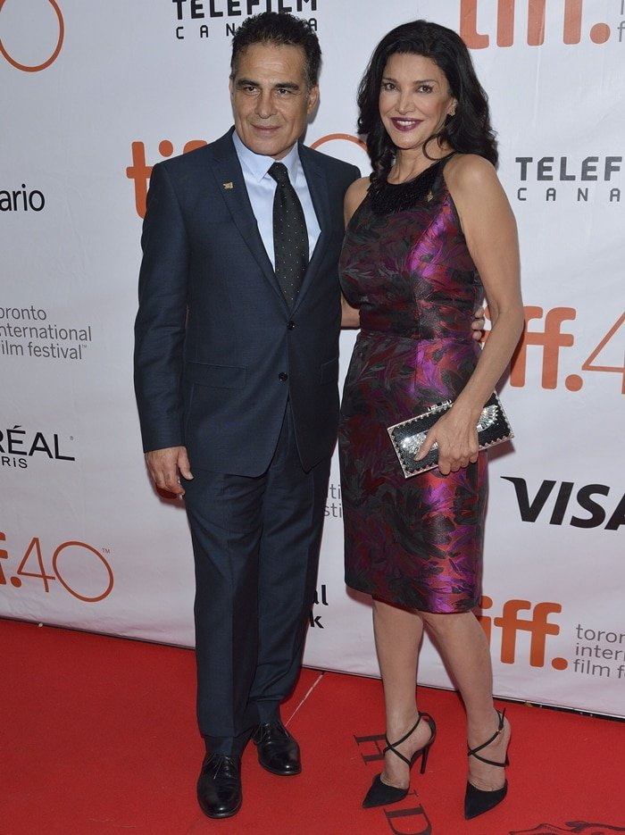 Shohreh Aghdashloo and Houshang Touzie have been married since 1987