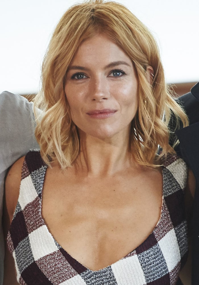 "Sienna Miller attends the ""High Rise"" photocall held at the 3rd San Sebastian International Film Festival"