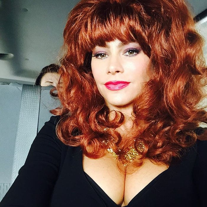 Sofia Vergara uploads a hilarious photo of herself as Peggy Bundy to make fun of her on-screen husband Ed O'Neill