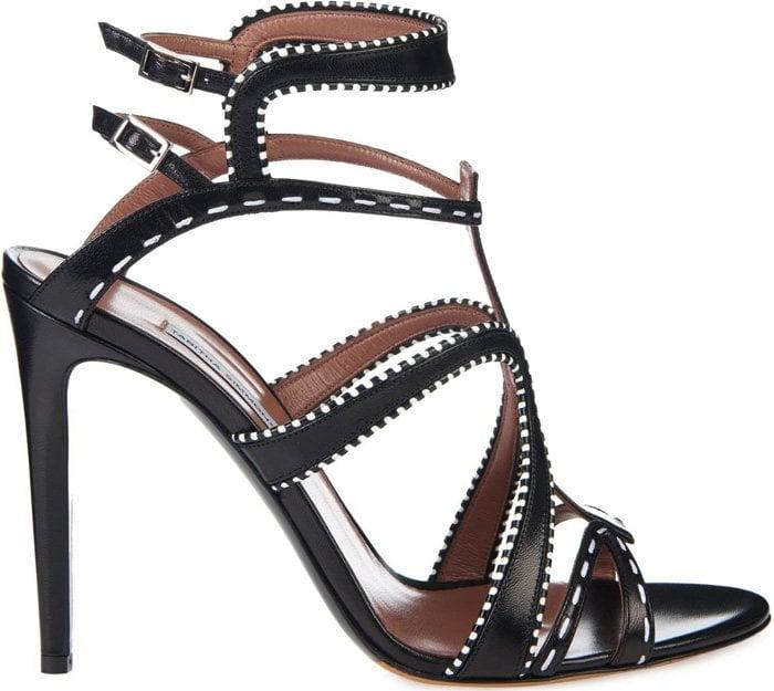 Tabitha Simmons Jasmine Leather Sandals