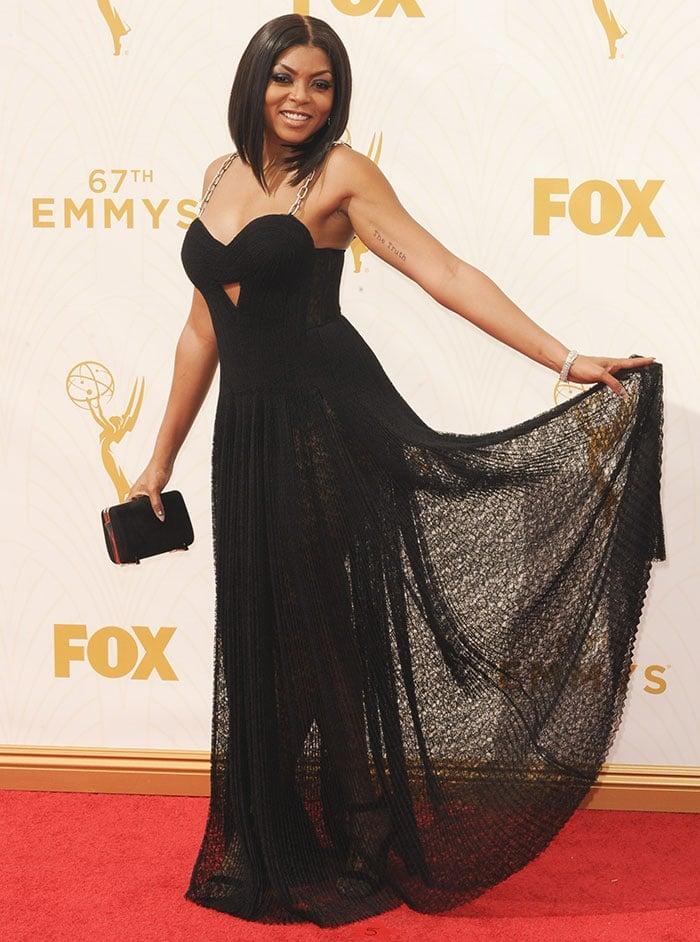 Taraji-P-Henson-Alexander-Wang-2015-Emmy-Awards