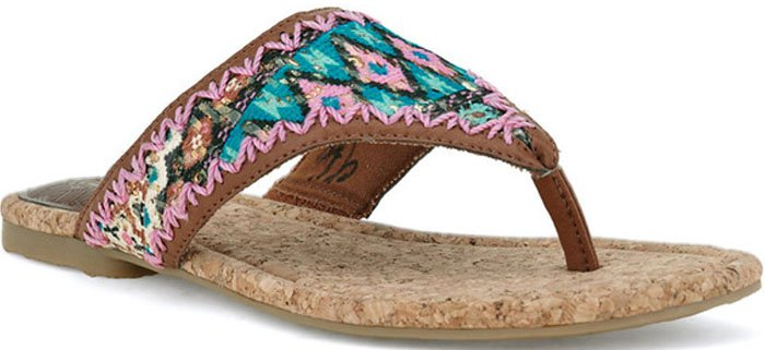 The Sak Shana Tribal Sandals
