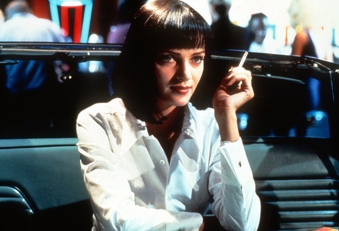 Uma Thurman played the memorable character of Mia Wallace in Pulp Fiction