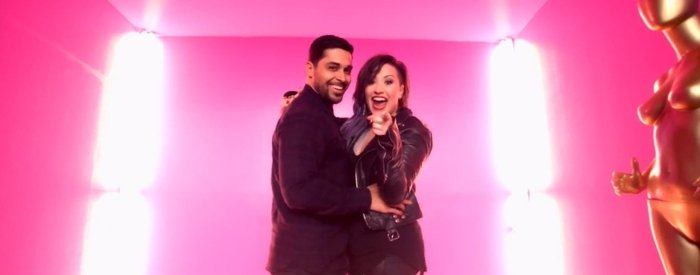 Wilmer Valderrama made a cameo in the music video for Demi Lovato's song Really Don't Care
