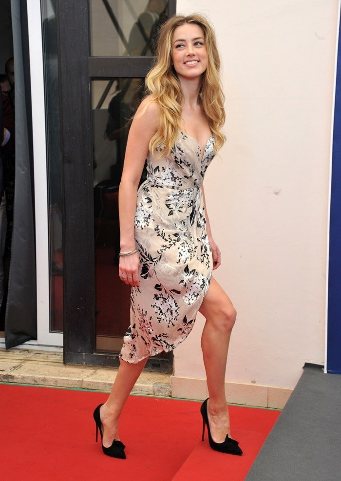 72nd Venice Film Festival - 'The Danish Girl' photocall Featuring: Amber Heard Where: Venice, Italy When: 05 Sep 2015 Credit: IPA/WENN.com **Only available for publication in UK, USA, Germany, Austria, Switzerland**