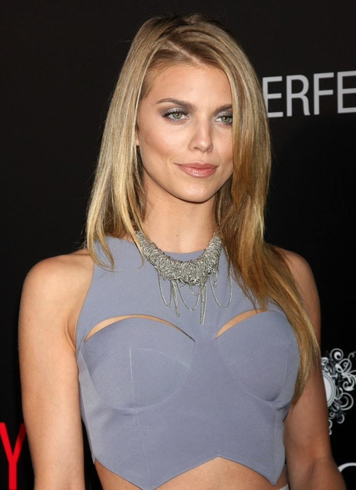 "AnnaLynne McCord attends the Los Angeles premiere of ""The Perfect Guy"""
