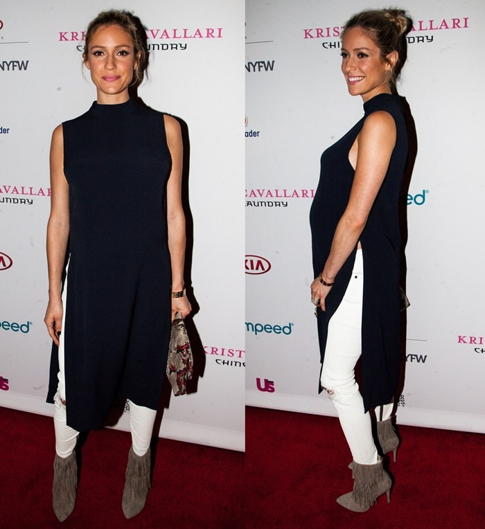 Kristin Cavallari at the Kristin Cavallari by Chinese Laundry presentation during New York Fashion Week's Spring 2016 Style 360 in New York City on September 17, 2015