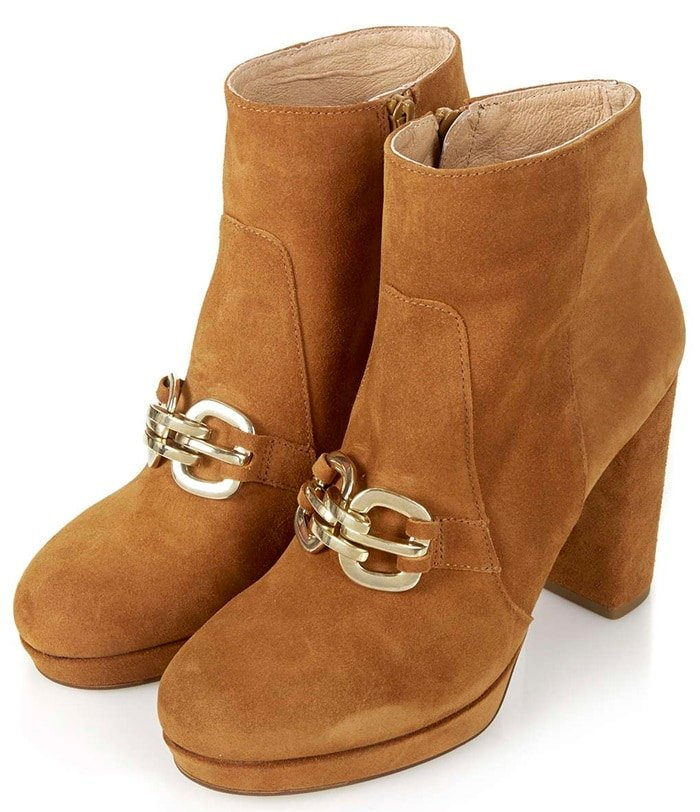 topshop hinkley boots side