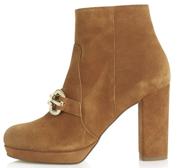 Topshop Hinkley Loafer Boots