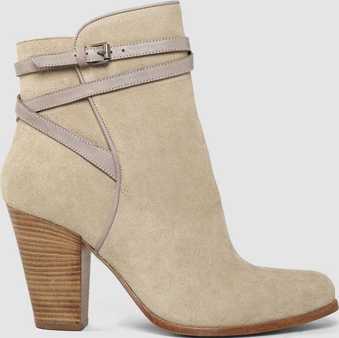 AllSaints Victoria Heels Boot Mouton