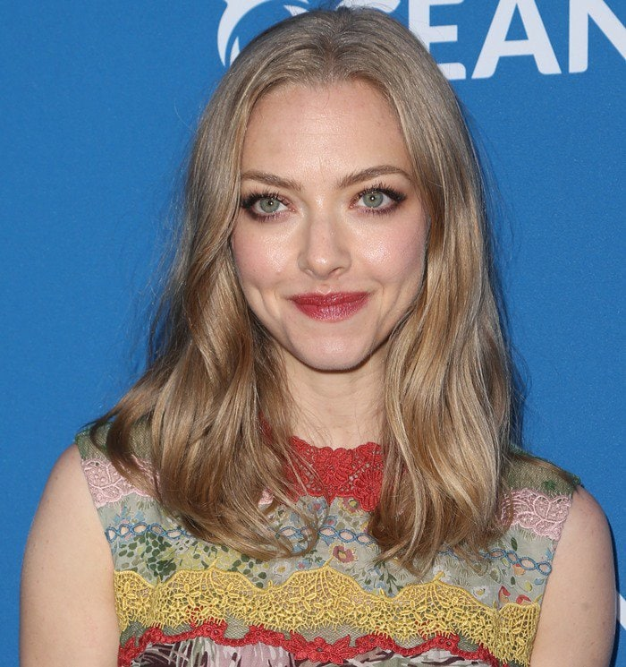 Amanda Seyfried attends the Concert for Our Oceans hosted by Seth MacFarlane held at the Wallis Annenberg Center for the Performing Arts in Beverly Hills on September 28, 2015