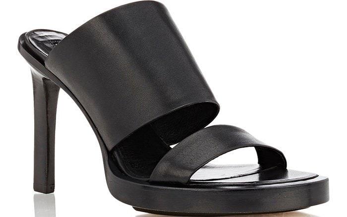 Ann Demeulemeester Double-Band Platform Sandals