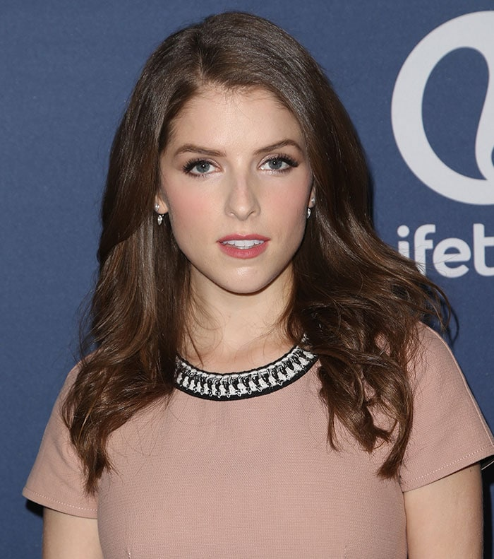 Anna Kendrick with perfect hair at Variety's Power of Women Luncheon