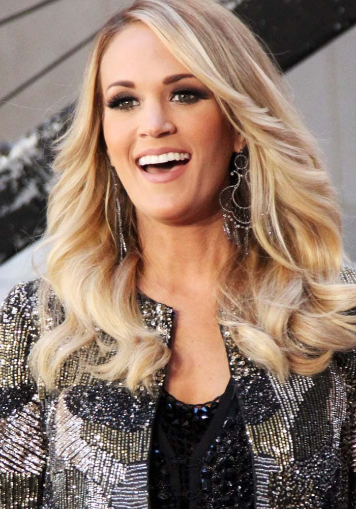 Carrie Underwood performs live on NBC's Today show in New York on October 23, 2015
