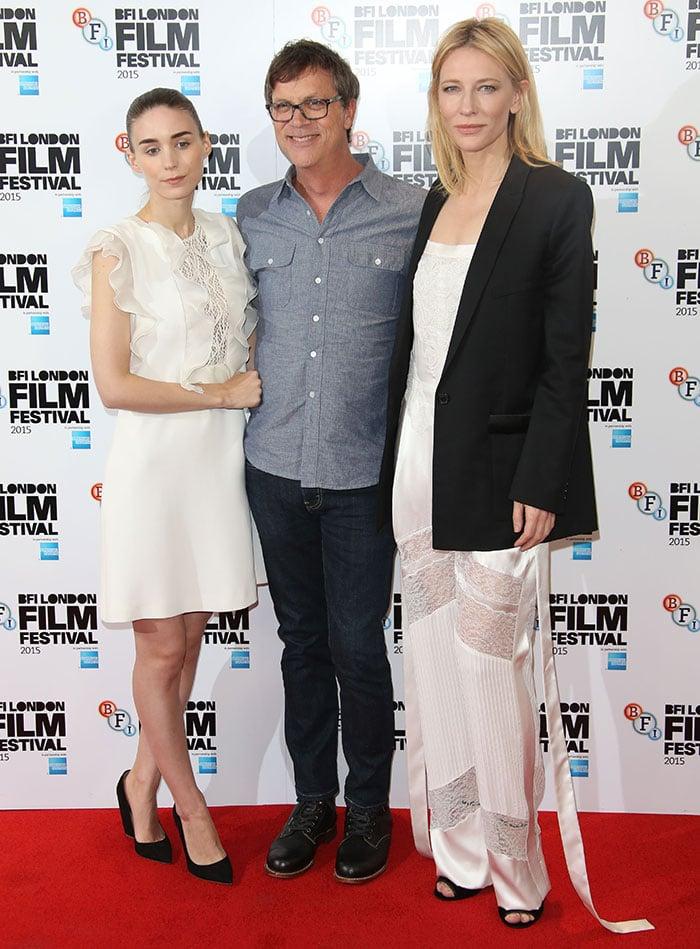Cate-Blanchett-Rooney-Mara-Todd-Haynes-Carol-London-Photocall