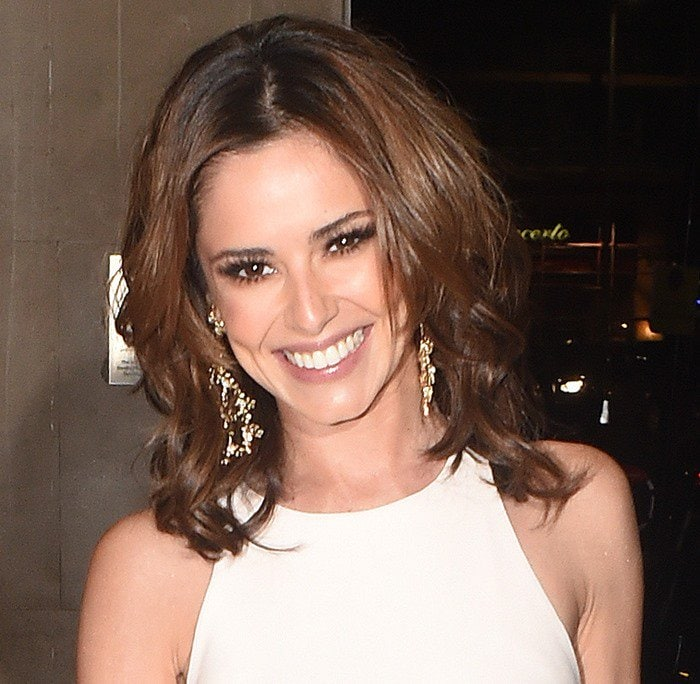 Cheryl Fernandez-Versini attends Ant and Dec's joint 40th party in London