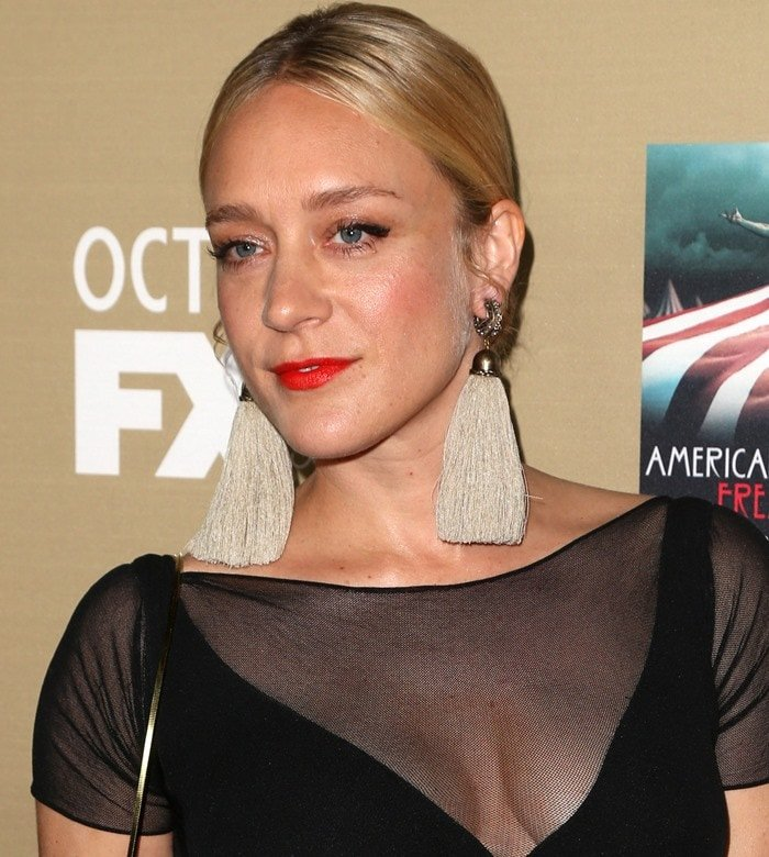 "Chloë Sevigny attends the premiere of FX's ""American Horror Story: Hotel"""