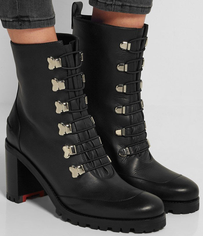 Christian Louboutin Country Croche 70 leather boot