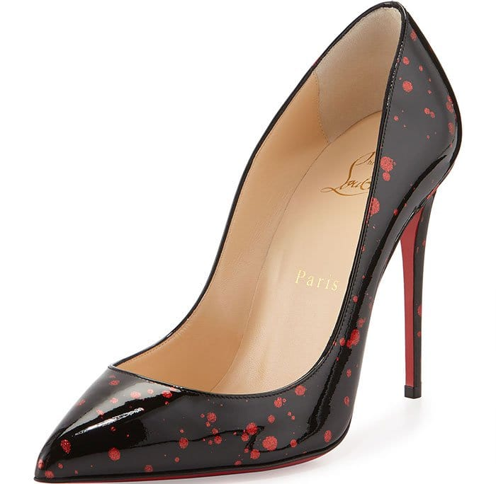 Christian-Louboutin-Pigalle-Follies-Red-Flecked-Black-Pumps