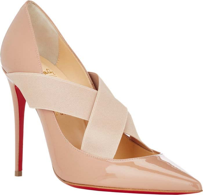 Christian Louboutin Sharpstagram Nude Patent