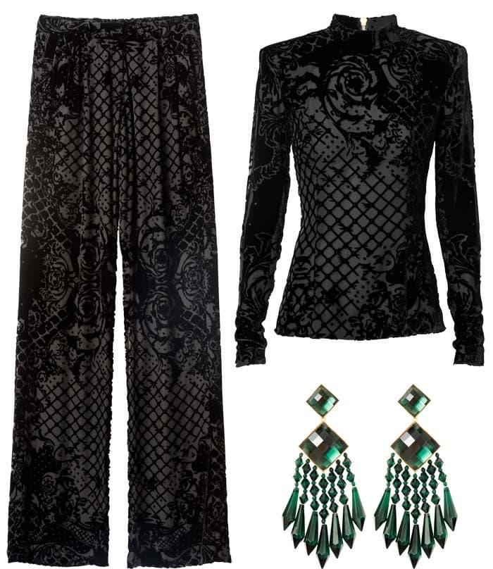 Diane Kruger Balmain HM outfit