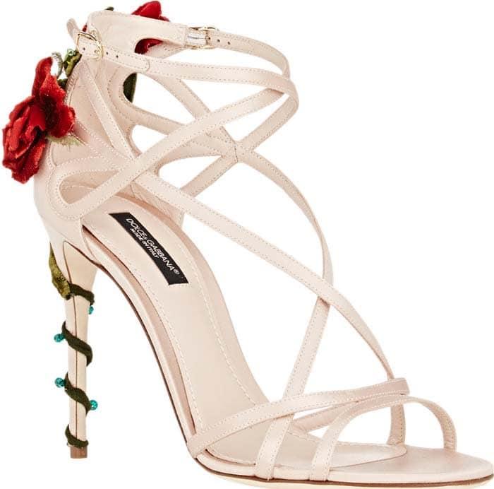Dolce Gabbana Embellished Sandals