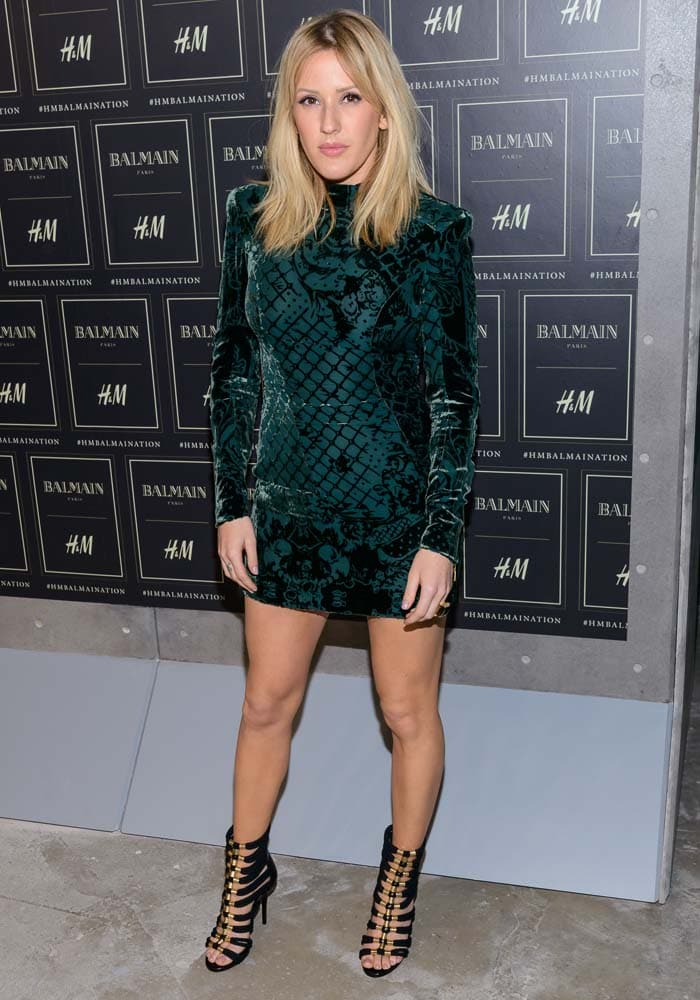 Balmain x H&M collection launch - Red Carpet
