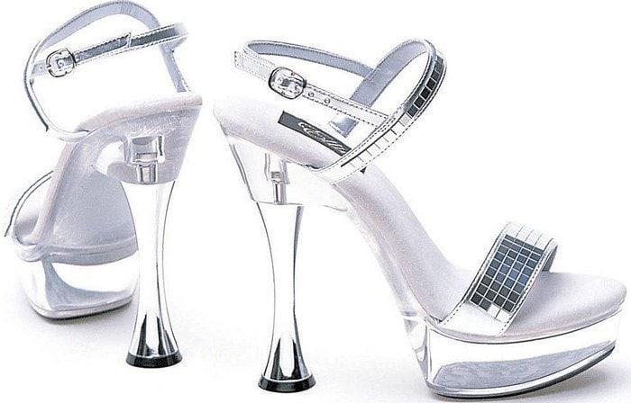 Ellie Shoes C-CARLA 6 Heel Platform Sandal