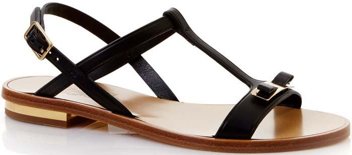 Salvatore Ferragamo Marino Bow Strap Sandals