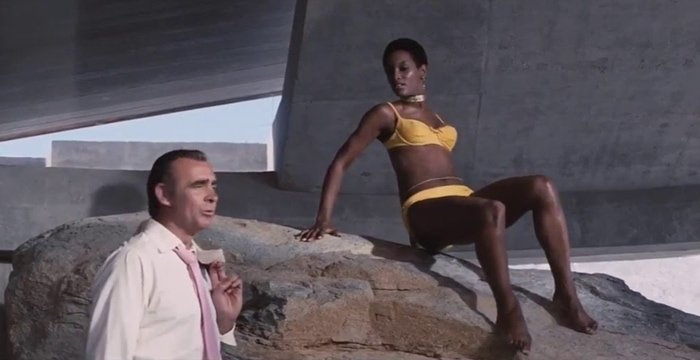 Trina Parks became the first black Bond girl when starring with Sean Connery as assassin Thumper in 1971's Diamonds Are Forever