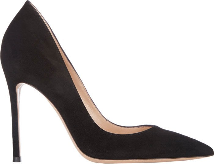 Gianvito Rossi Ellipsis Pumps Black Suede