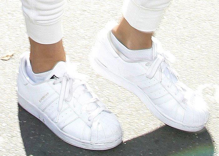 Gigi Hadid Balmain Adidas 3