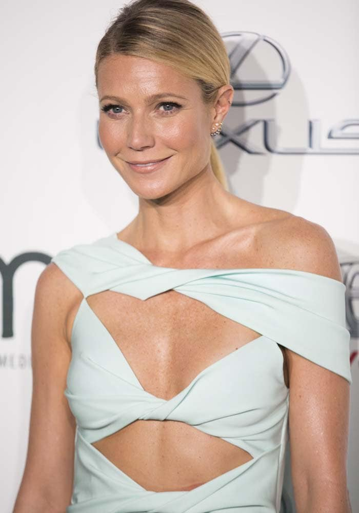 Gwyneth Paltrow shows off her glowing skin at the Environmental Media Awards