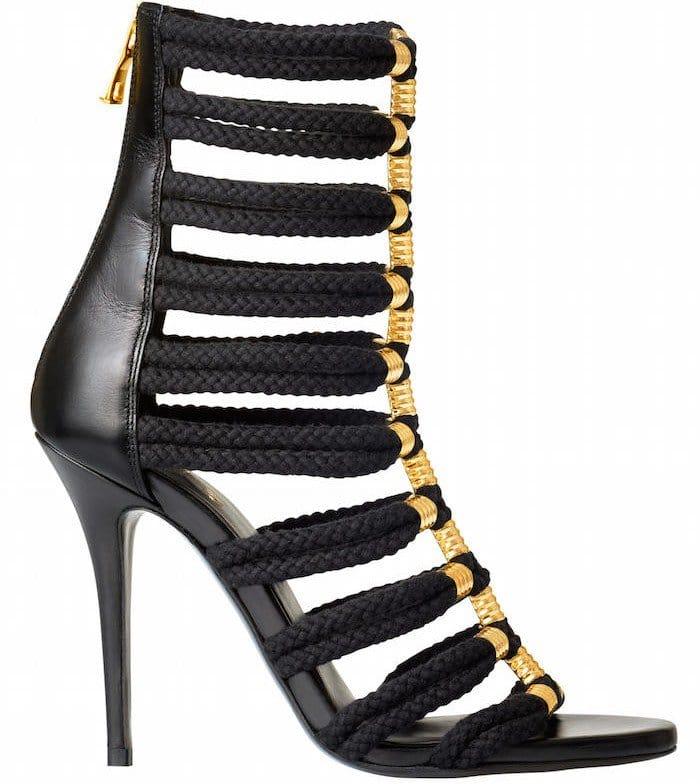 Balmain x H&M Caged Sandals