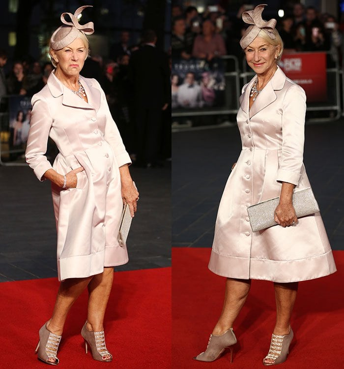 Helen Mirren plays Hedda Hopper, an American actress, and gossip columnist, in the American biographical drama film