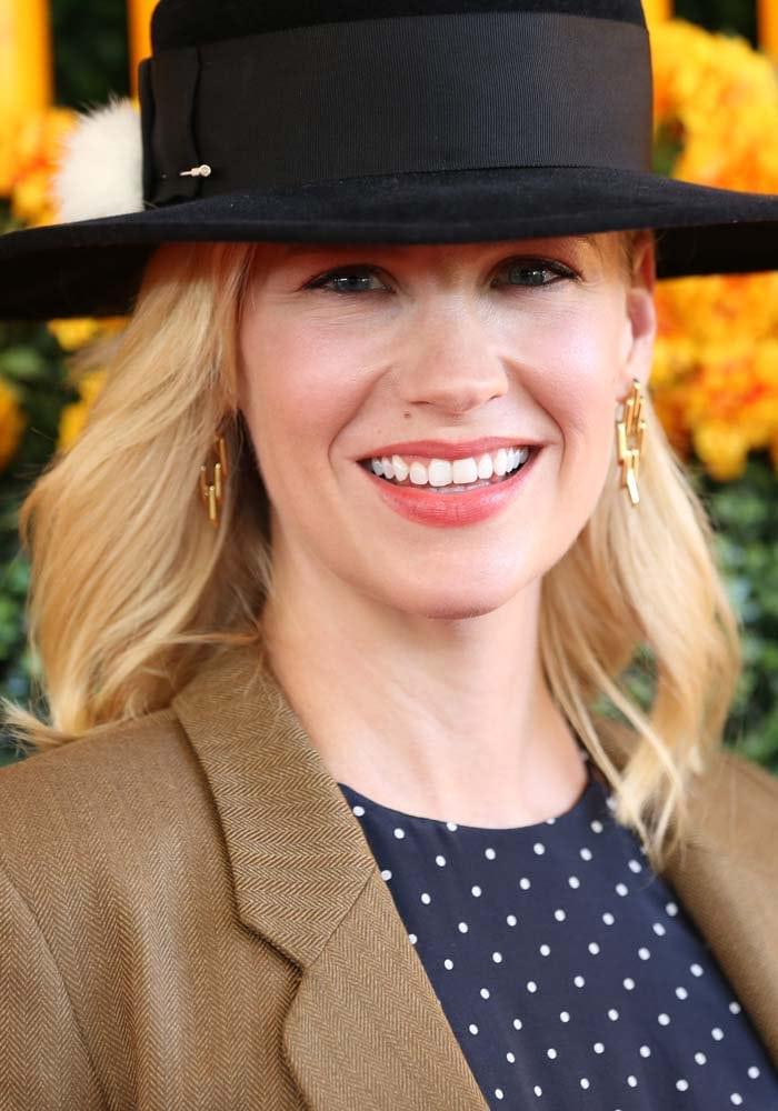 January Jones attends the 6th Annual Veuve Clicquot Polo Classic