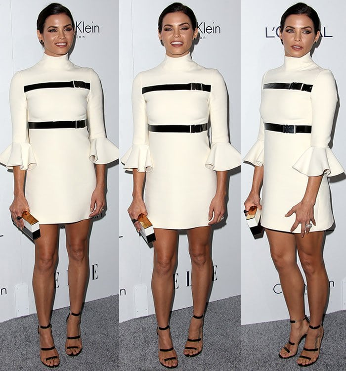 Jenna Dewan-Tatum in David Koma dress at the Elle Women in Hollywood Awards 22nd Annual Celebration held at the Four Seasons Hotel Los Angeles on October 19, 2015