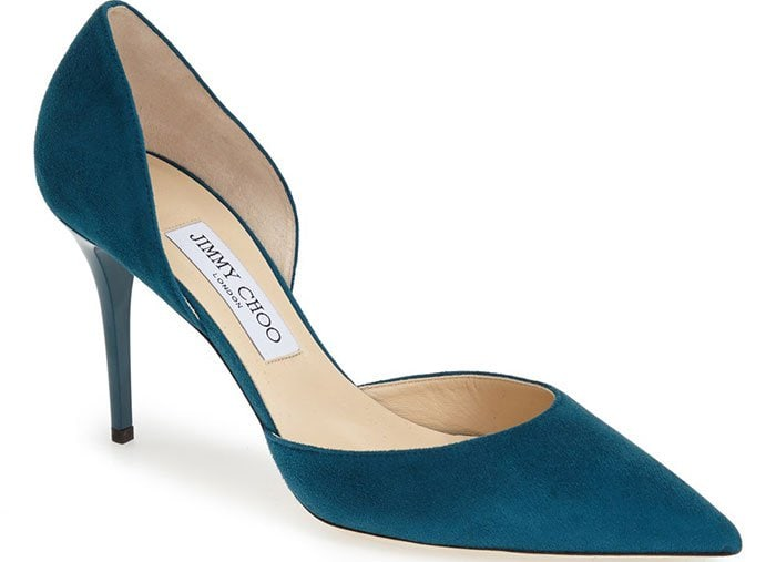Jimmy-Choo-Addison-d'Orsay-Pumps-Teal-Suede