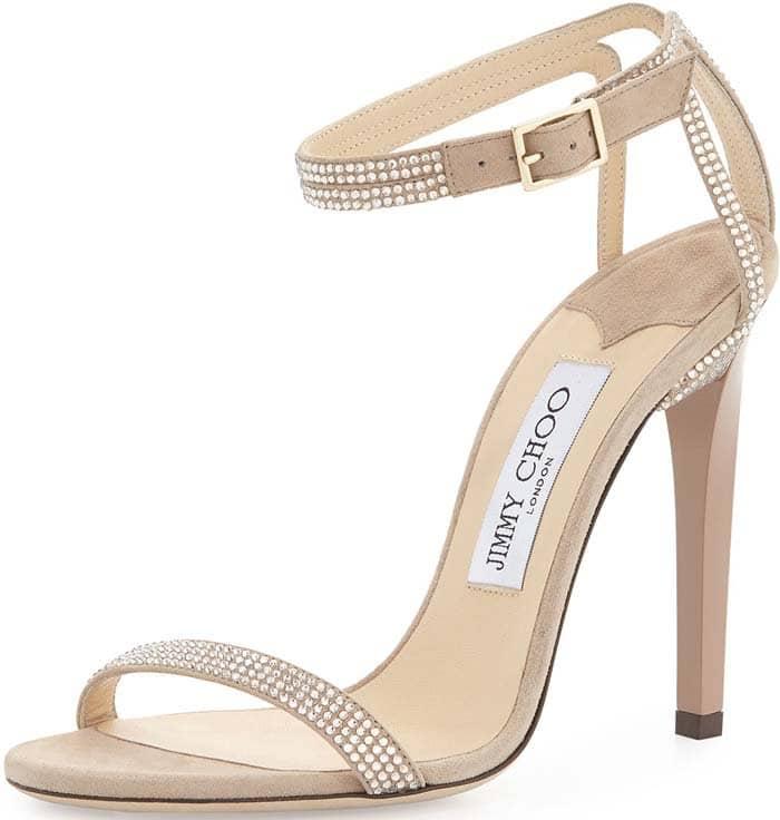 "Jimmy Choo ""Daisy"" Crystal Embellished Sandal"