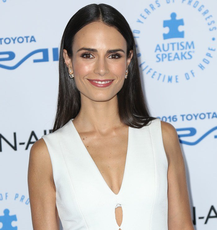 Jordana Brewster attended an Autism Speaks Gala in Santa Monica on October 8, 2015