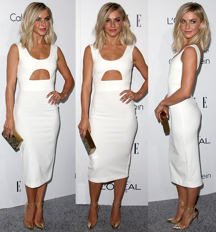 Actress Julianne Hough attends the 22nd Annual ELLE Women in Hollywood Awards