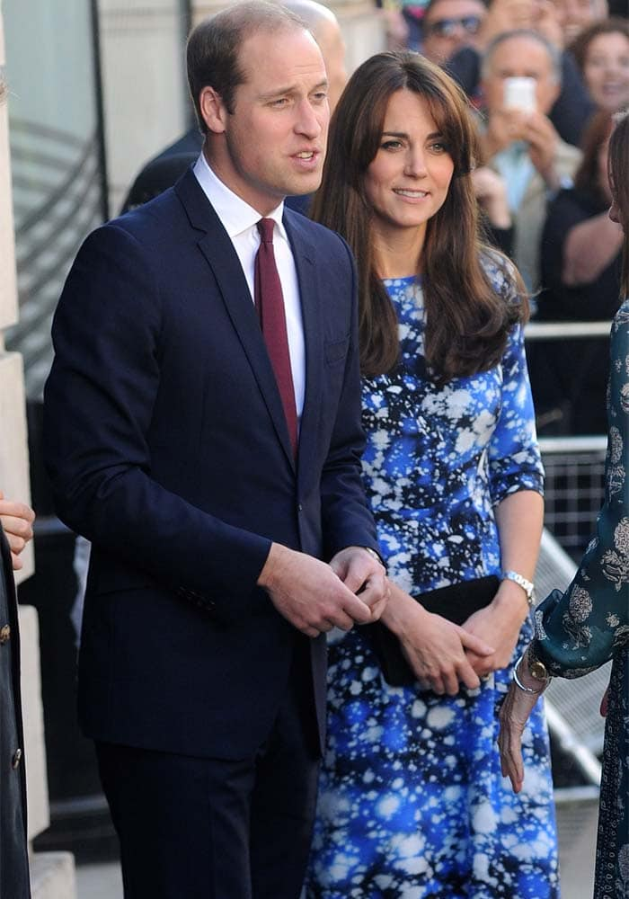 The Duke and Duchess of Cambridge, William and Kate, support the Charities Forum
