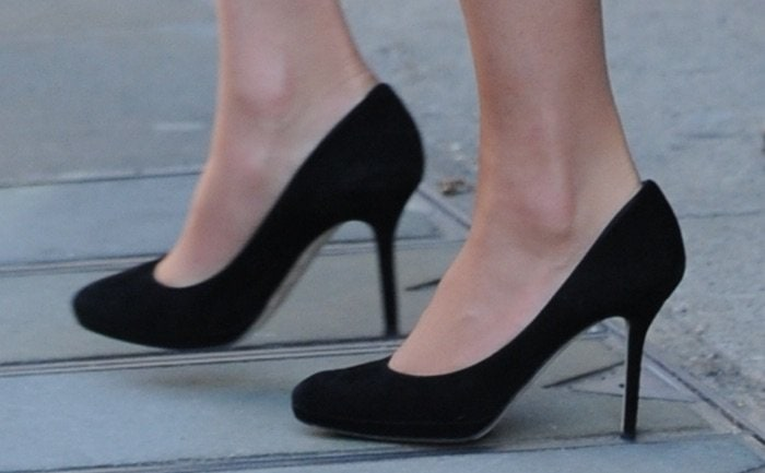 Kate Middleton's black Jimmy Cho Aimee pumps