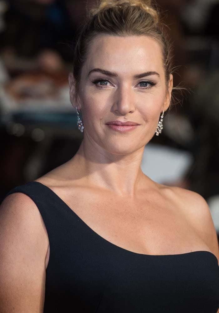 "Kate Winslet attends the BFI London Film Festival premiere of ""Steve Jobs"" in London"