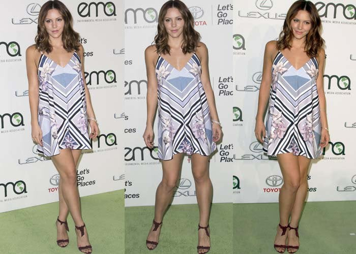 Katharine McPhee Environmental Awards Alexandre Birman 2