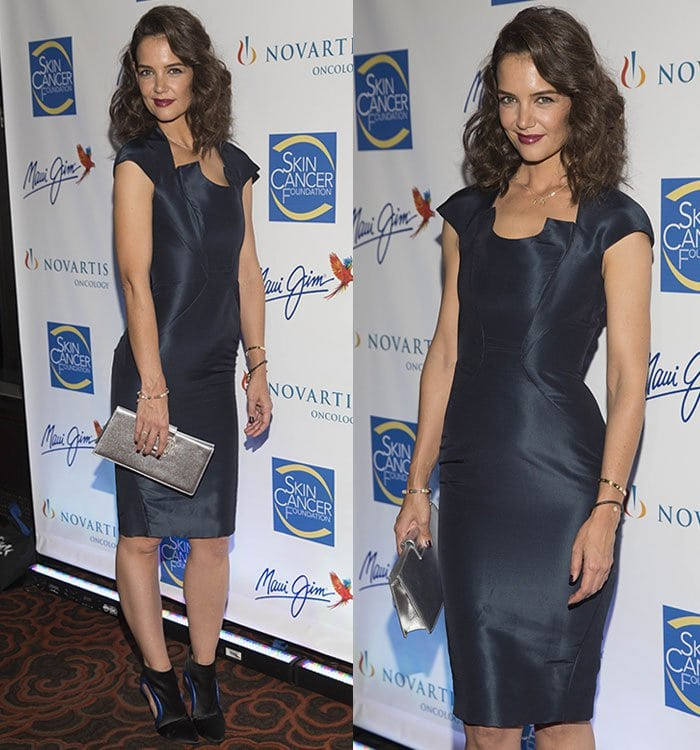 Katie-Holmes-The-2015-Skin-Cancer-Foundation-Gala