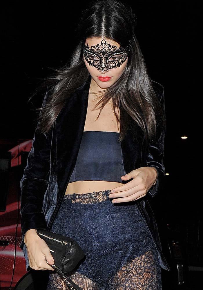 Kendall Jenner Cavalli Gianvito Rossi 1