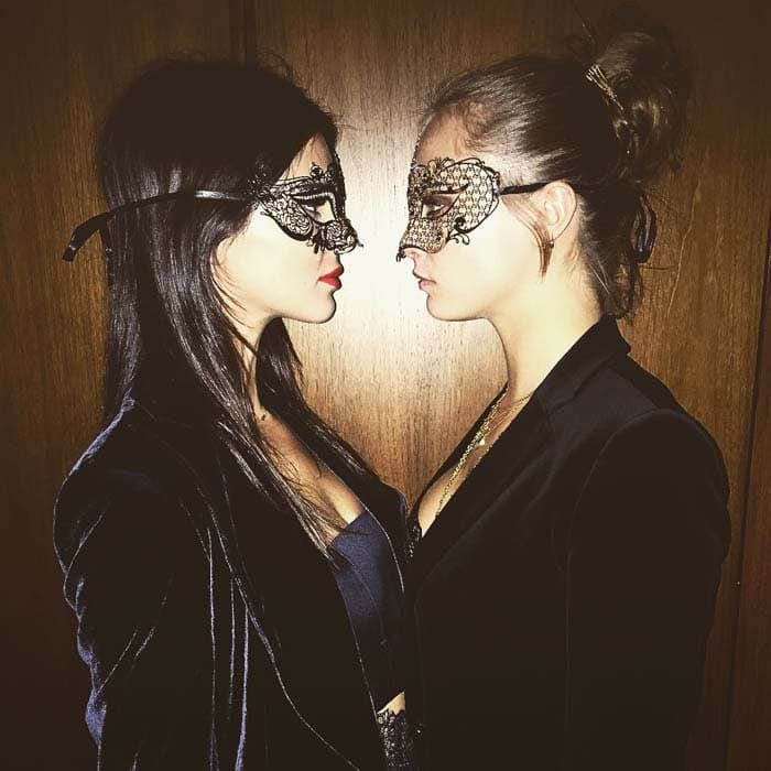 Kendall Jenner Cavalli Gianvito Rossi IG 2